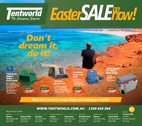 Page 1  sc 1 st  Issuu & Tentworld OZtrail Easter Sale by Tentworld - The Camping Experts ...