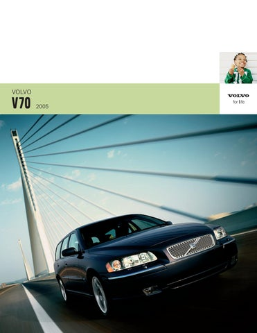 Volvo V70 Brochure 2005 by Mustapha Mondeo - issuu