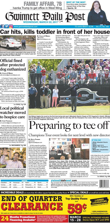 March 22 2017 Gwinnett Daily Post By Gwinnett Daily Post Issuu