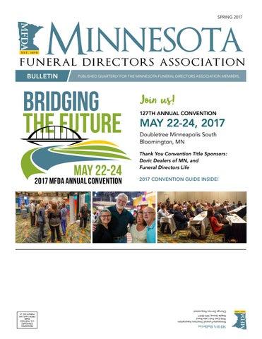 MFDA Bulletin Spring 2017 By Pernsteiner Creative Group Inc