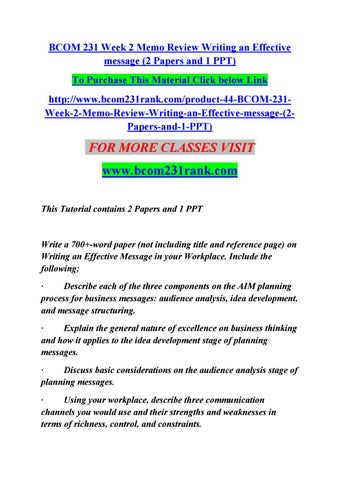 effective papers review