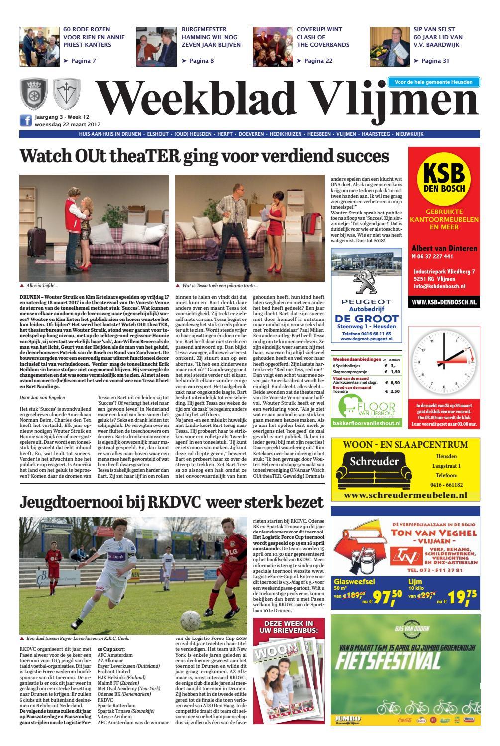 Weekblad Vlijmen 22 03 2017 By Uitgeverij Em De Jong Issuu Gelang Karet Blanden
