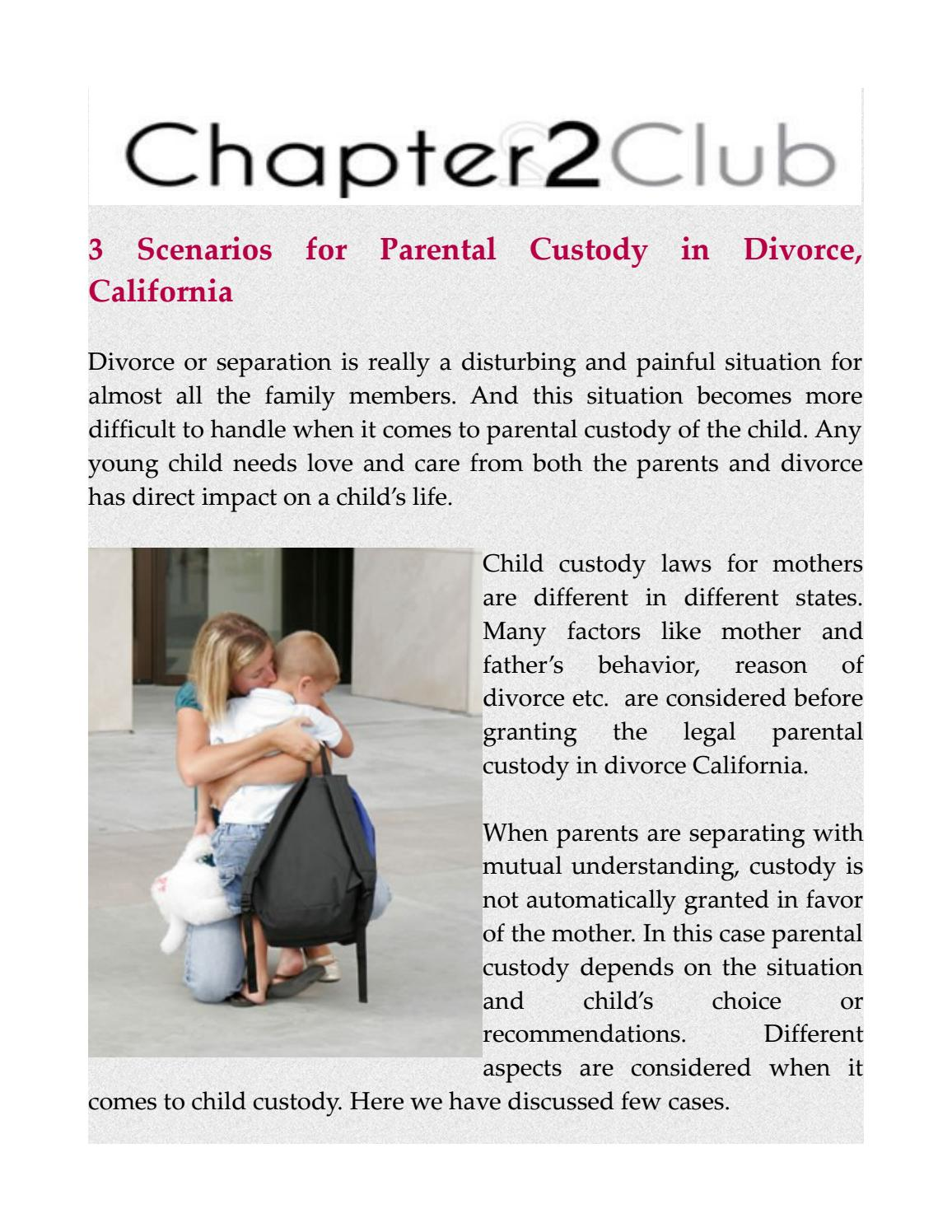 Difficult choice: how to get divorced if there is a child