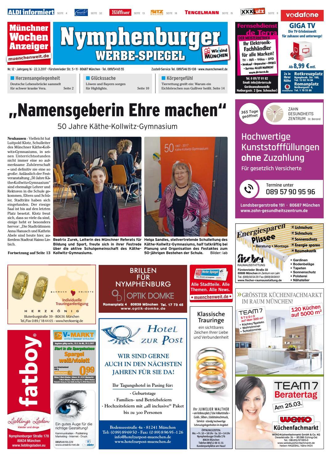 Der Sitzmacher kw 12 2017 by wochenanzeiger medien gmbh issuu