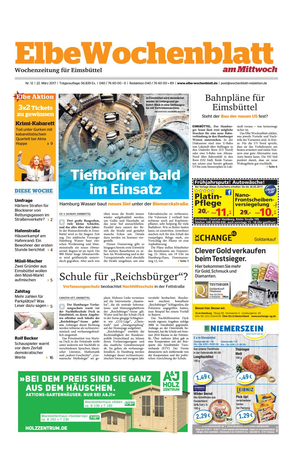 Eimsbüttel KW12-2017 by Elbe Wochenblatt Verlagsgesellschaft mbH & Co.KG -  issuu