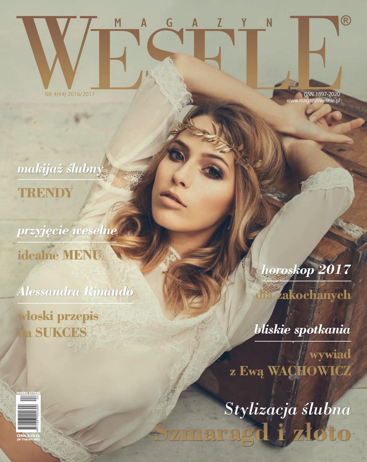 71ae4bf554 Magazyn WESELE 4 44 2016-2017 by Magazyn Wesele - issuu