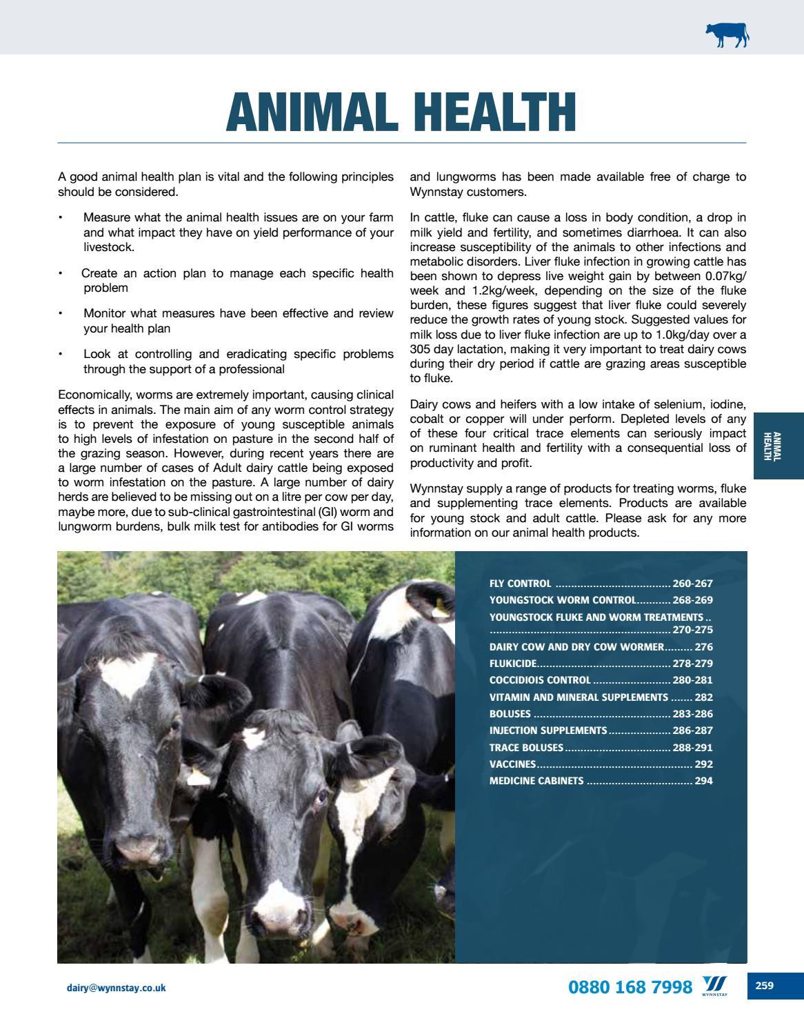 Wynnstay Dairy Catalogue by WynnstayGroup - issuu
