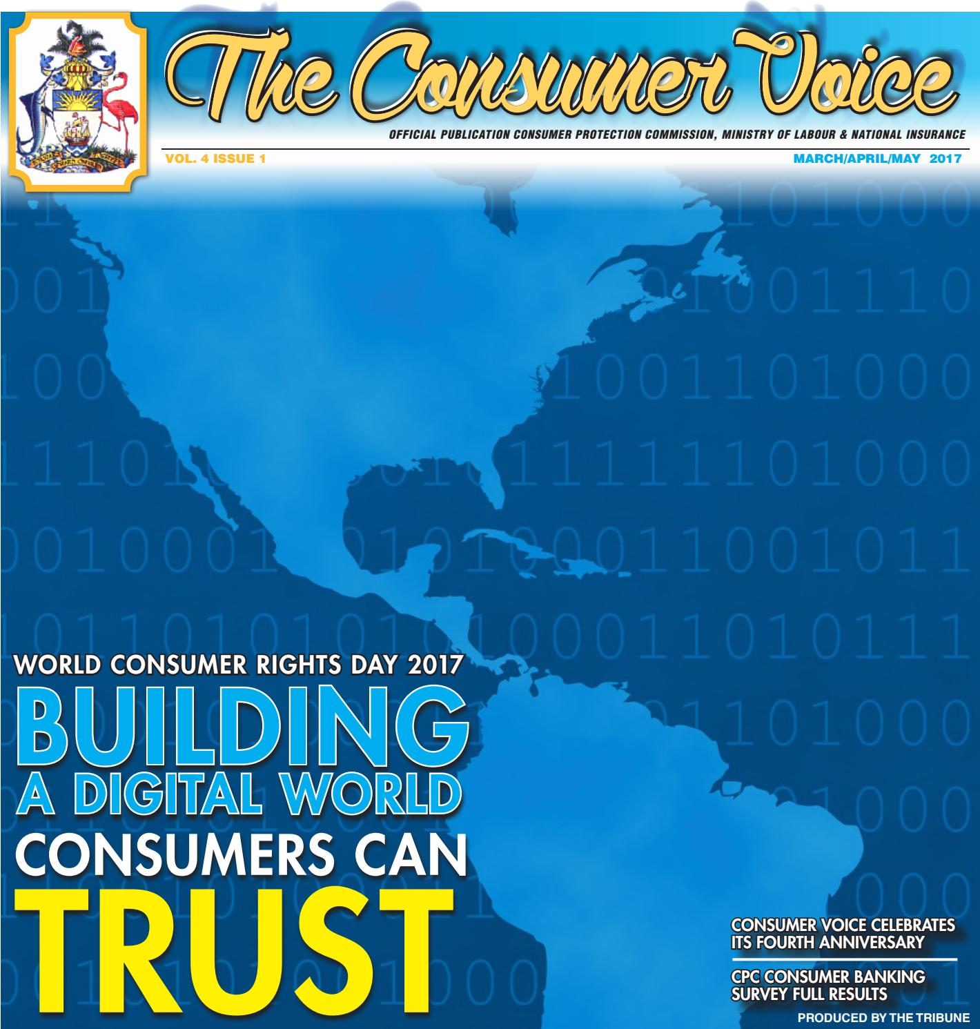 The Consumer Voice March 2017 By Bahamas Gov Media Issuu