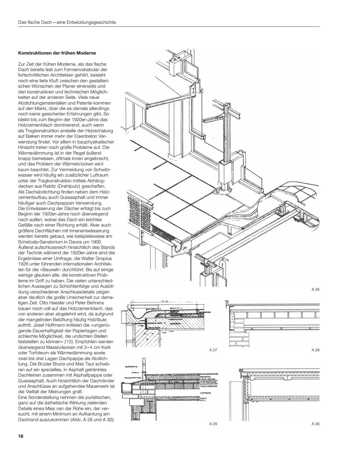 Flachdach Atlas by DETAIL - issuu