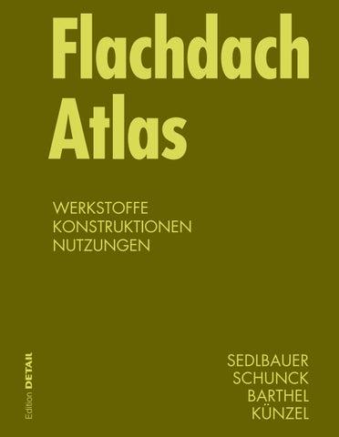 Flachdach Atlas By Detail Issuu