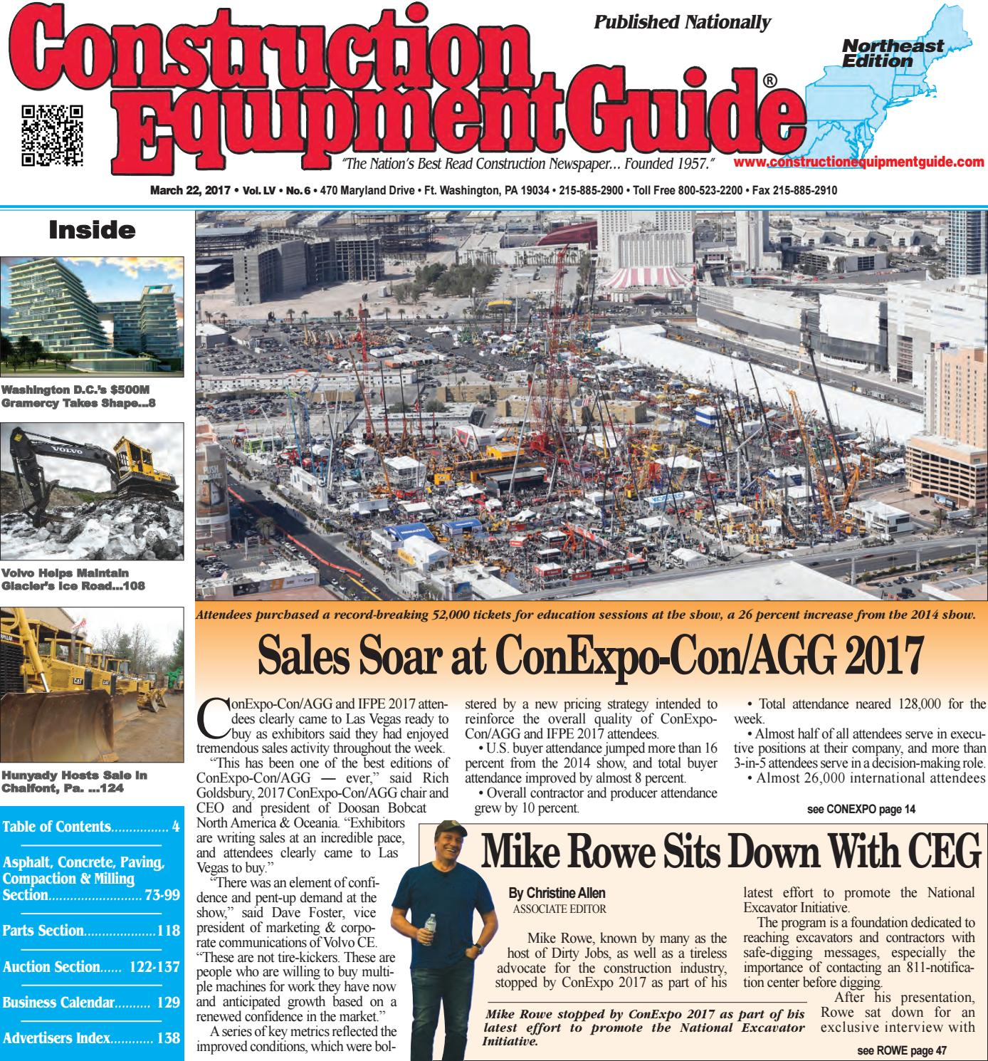 Northeast 6 March 22, 2017 by Construction Equipment Guide - issuu 0612775b1ef9