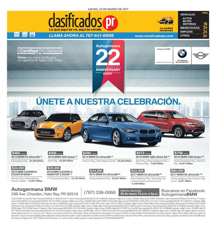 ClasificadosPR 03 23 2017 By ClasificadosPR.com