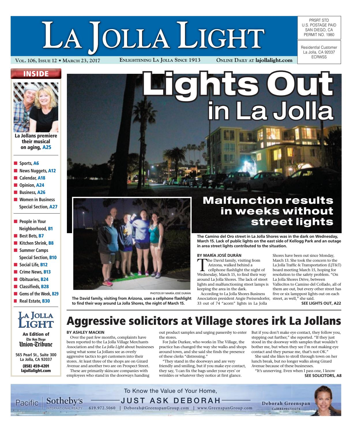 La jolla light 03 23 17 by MainStreet Media - issuu