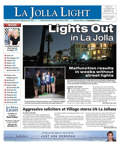 La jolla light 03 23 17 by MainStreet Media - issuu