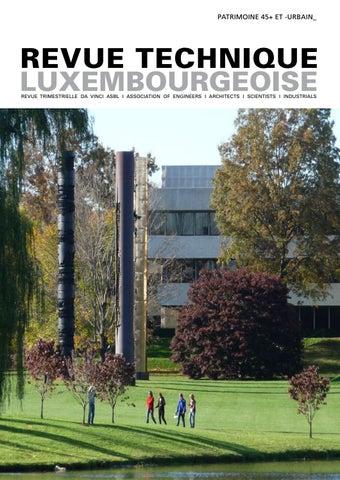 Rt By Revue Technique Luxembourgeoise Issuu - Porte placard coulissante jumelé avec serrurier bourg la reine