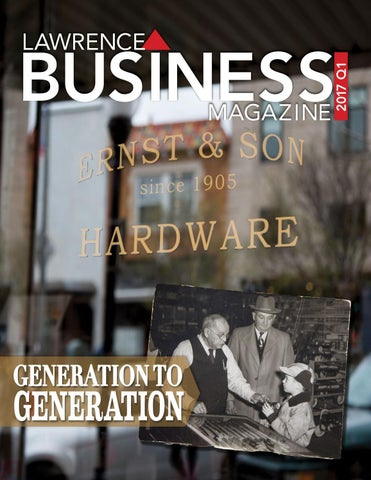 Lawrence Business Magazine 2017 Q1 By Lawrence Business Magazine Issuu