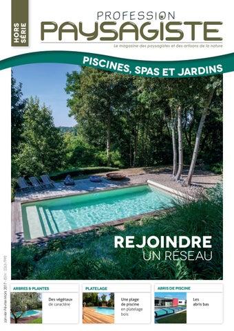 Profession Paysagiste HORS SÉRIE #2 Piscines, Spas Et Jardins By Les ...