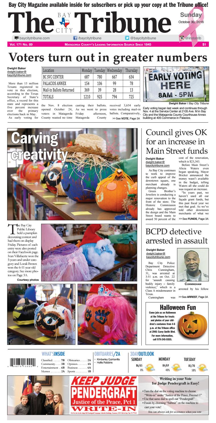 Octobergenexcellance by The Bay City Tribune - issuu