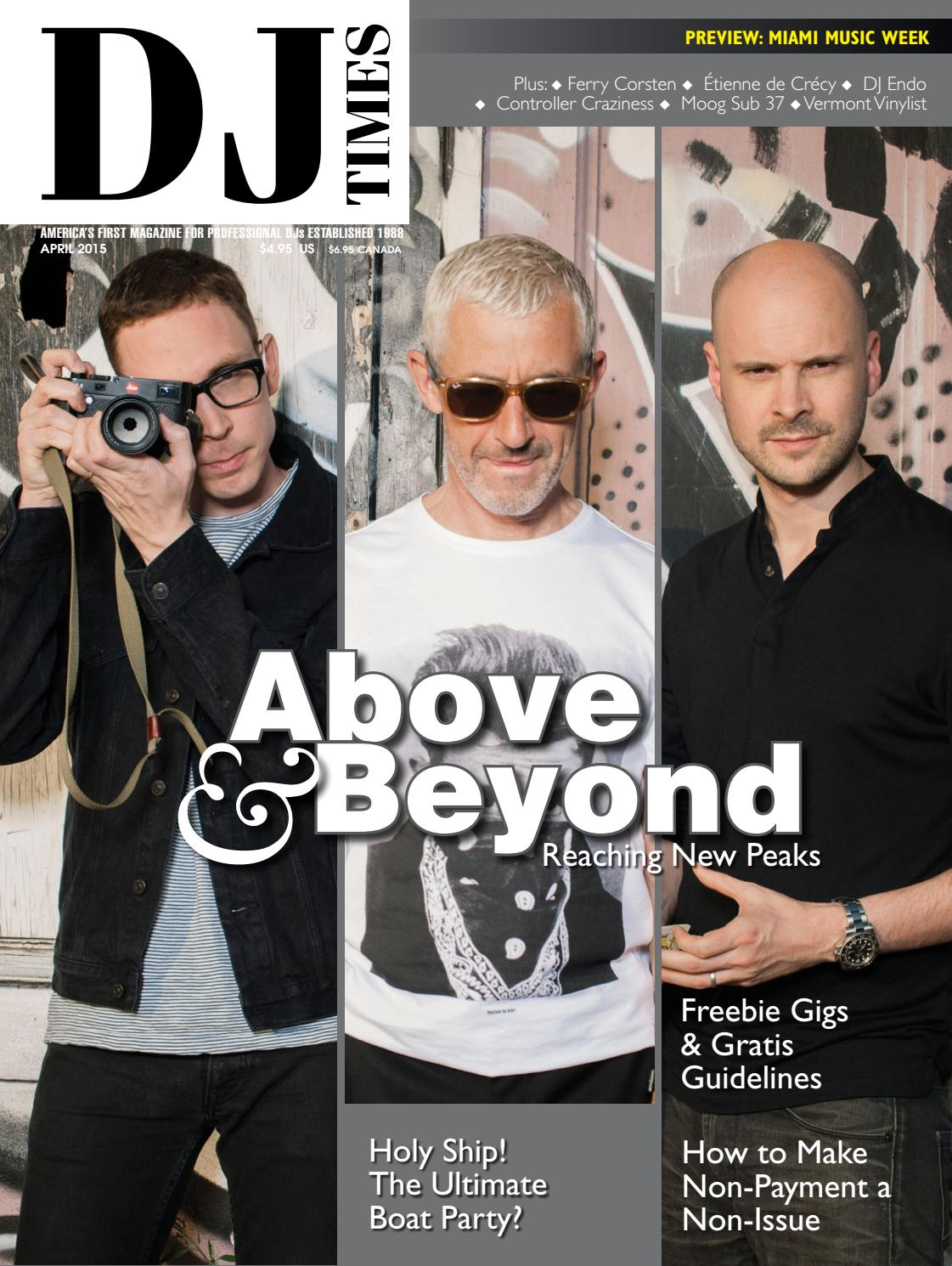 DJ Times April 2015, Vol 28 No 4 by DJ Times Magazine - issuu