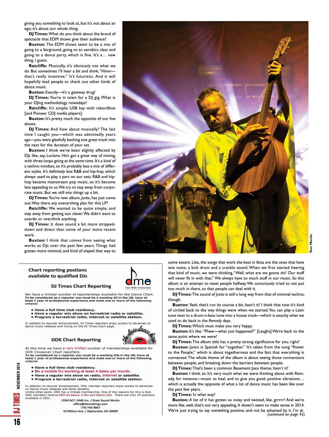 DJ Times November 2014, Vol 27 No 11