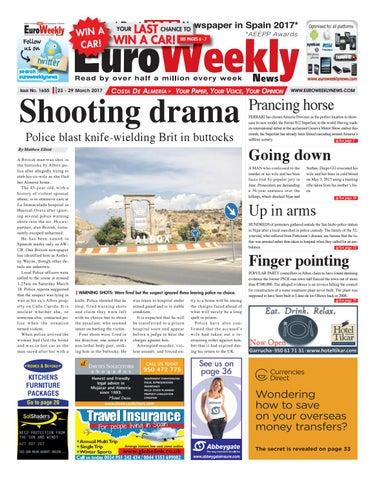 Euro Weekly News - Costa de Almeria 23 - 29 March 2017 Issue