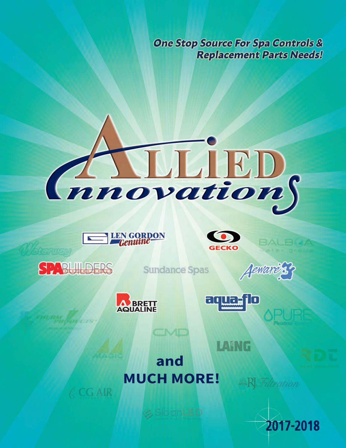 2017 2018 Allied Innovations Spa Parts Catalog (Part 2: Pgs 475-616) by  Allied Innovations - issuu