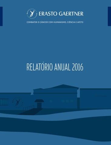 Relatório Anual de Atividades 2016 by Erasto Gaertner - issuu 9d280fc9cc627