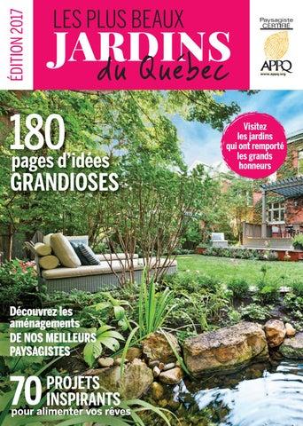 Les plus beaux jardins du Québec, édition 2017 by Éditions Pratico ...