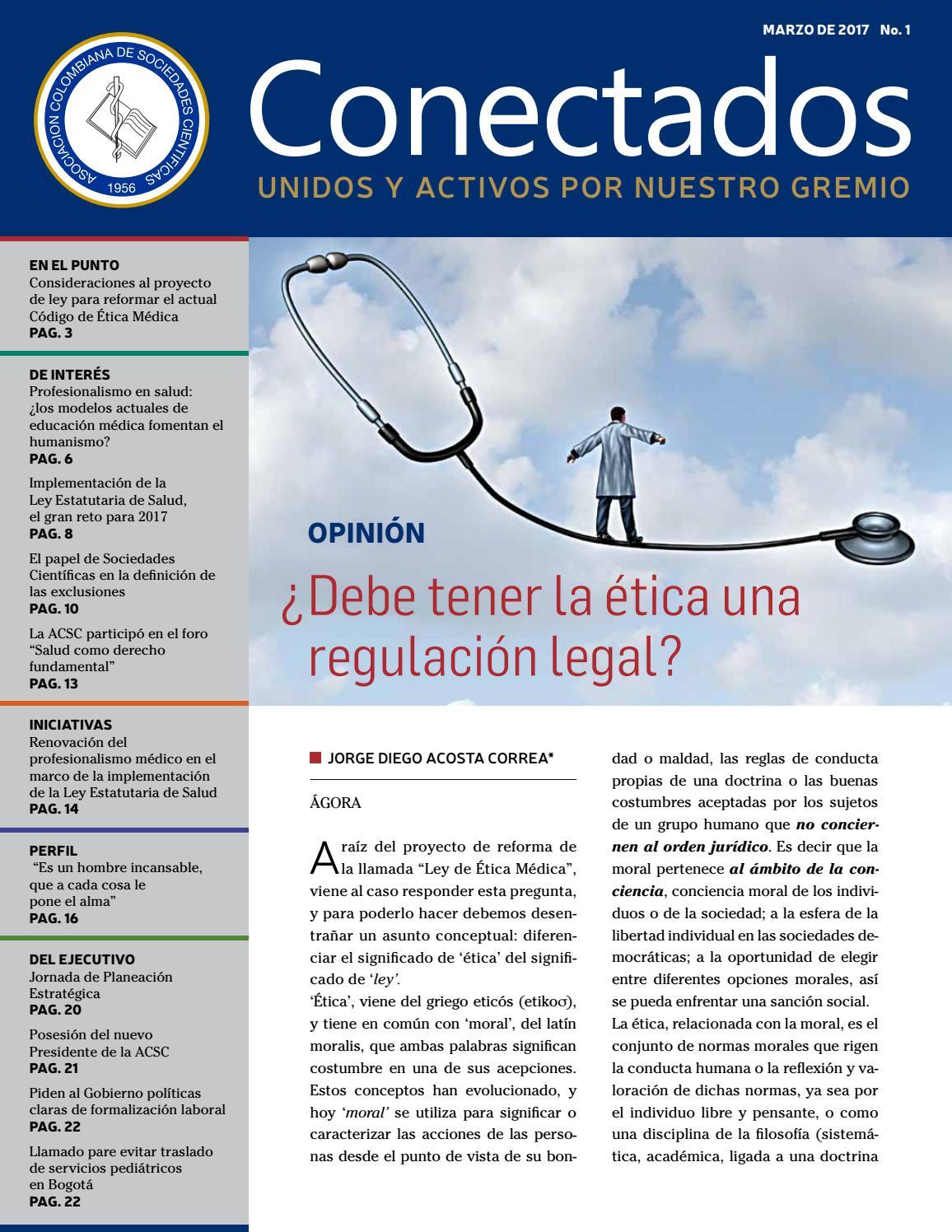 Boletín Conectados ACSC Marzo 2017 by Asociacion Colombiana de ...