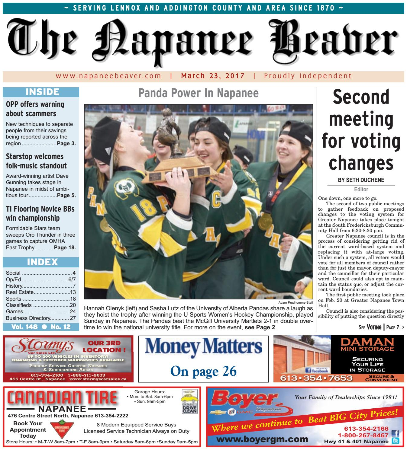 Napanee Beaver March 23 2017 by The Napanee Beaver issuu
