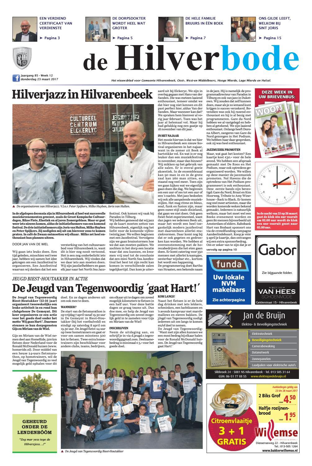 De Hilverbode 23-03-2017 by Uitgeverij Em de Jong - issuu