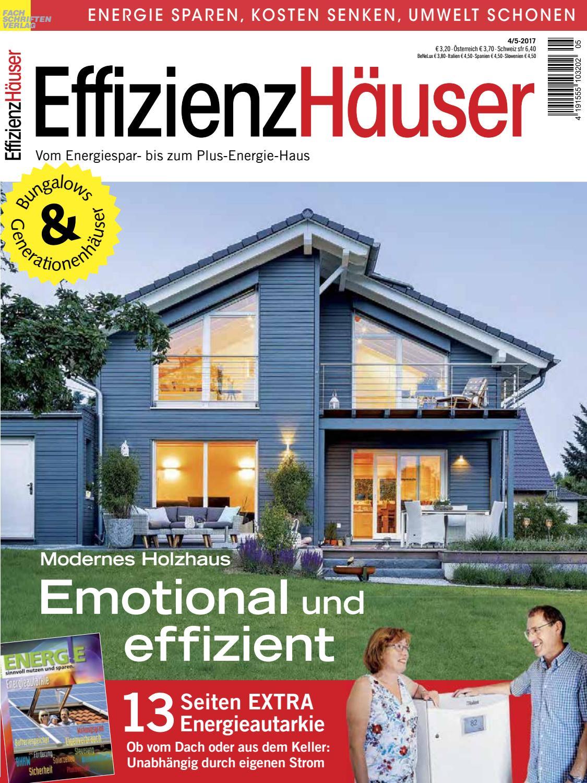 Wonderful EffizienzHäuser 4/5 2017 By Fachschriften Verlag   Issuu