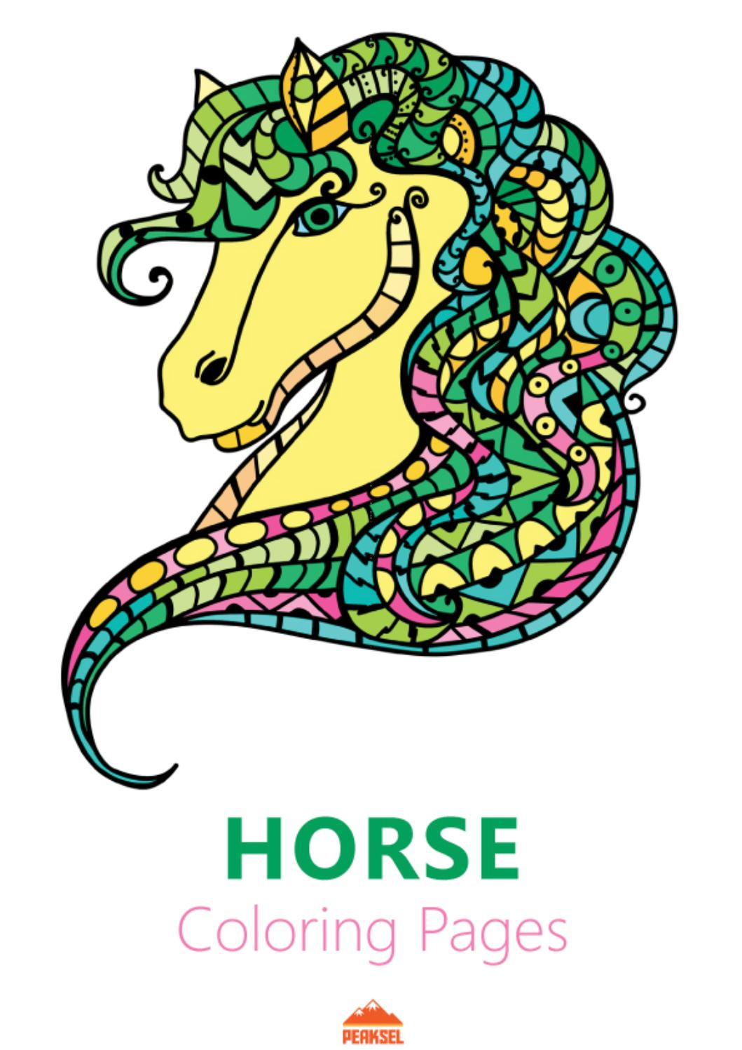 It is a picture of Horse Coloring Pages Printable regarding paint horse