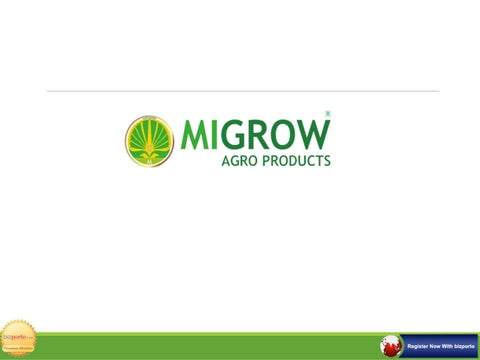 Migrow agro products by Online Marketplace - issuu
