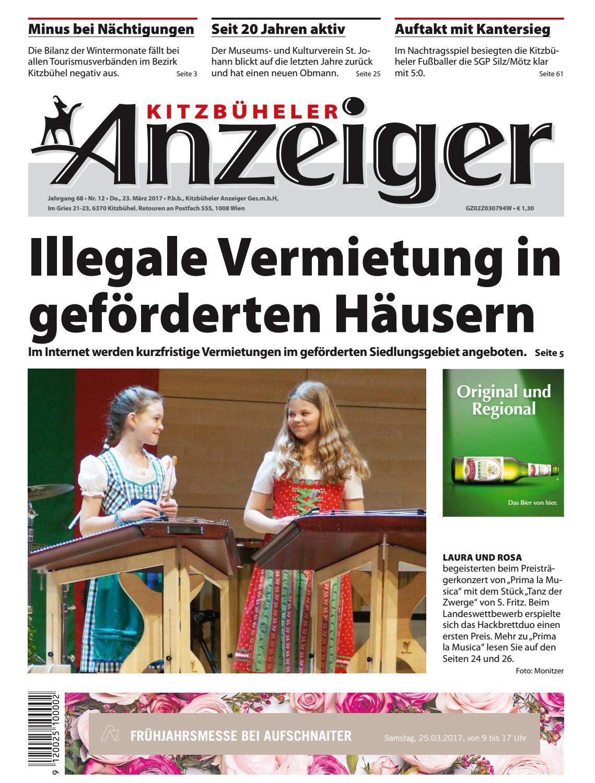 Kitzbüheler Anzeiger KW 12 2017 by kitzanzeiger - issuu