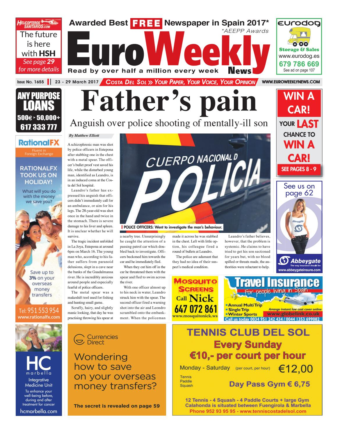 Euro weekly news costa del sol 23 29 march 2017 issue 1655 by euro weekly news costa del sol 23 29 march 2017 issue 1655 by euro weekly news media sa issuu fandeluxe Gallery