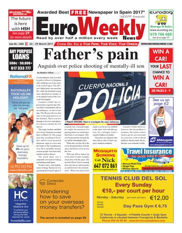 Euro weekly news costa del sol 23 29 march 2017 issue 1655 by page 1 fandeluxe Choice Image