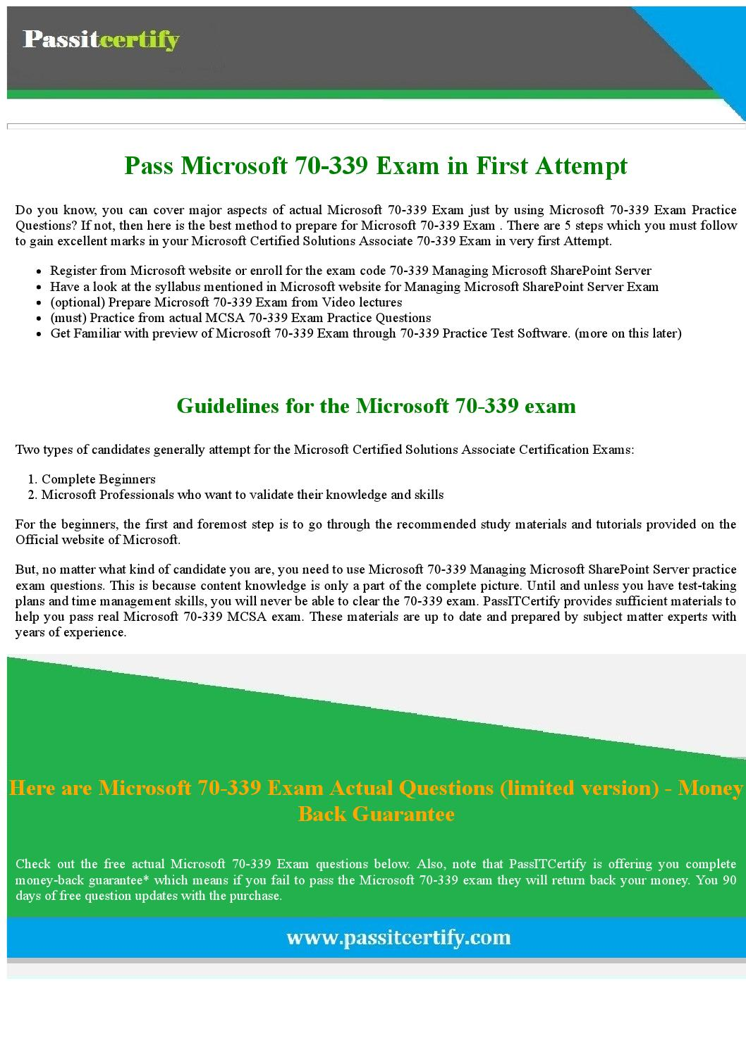 Download free 70 339 managing microsoft sharepoint server 2016 pdf download free 70 339 managing microsoft sharepoint server 2016 pdf demo for success by michael j koester issuu 1betcityfo Choice Image