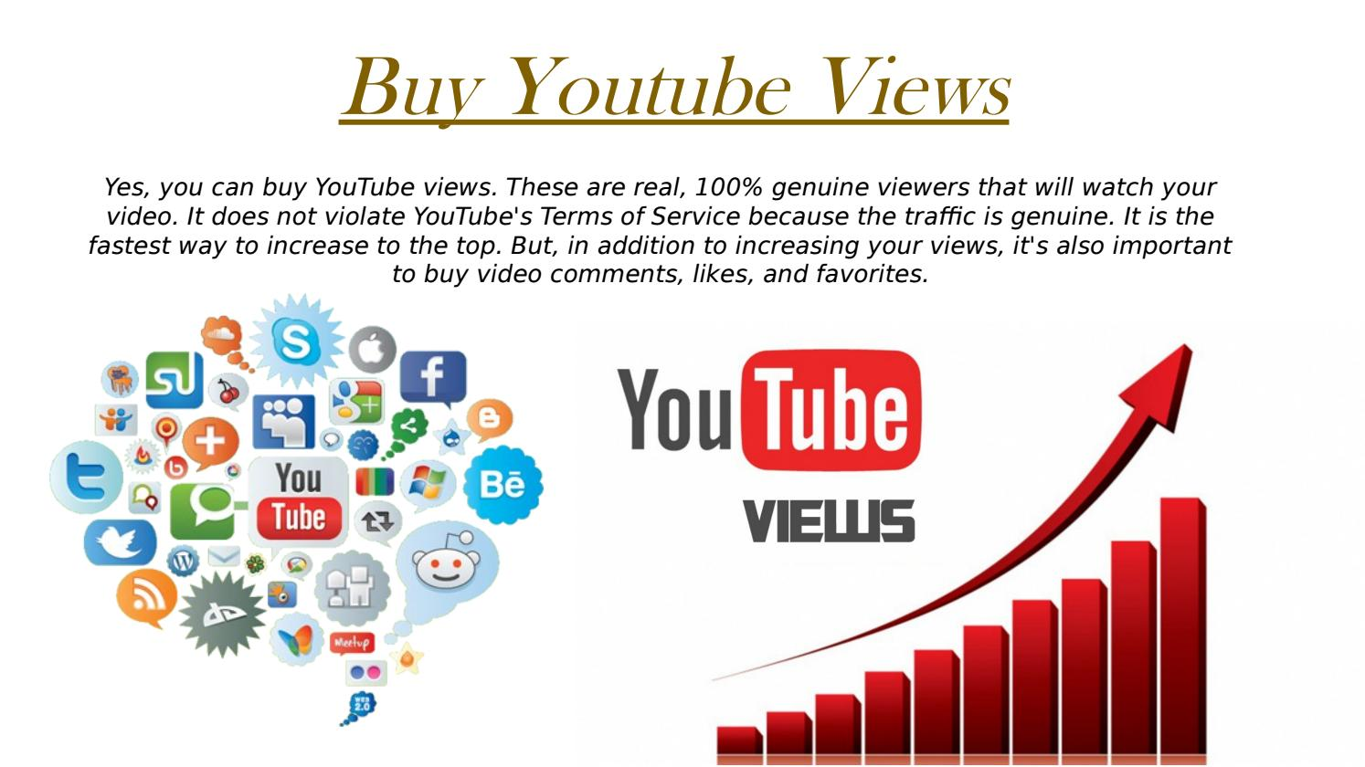 Buy Youtube Views - Getcheapviews com by Jackson Healy - issuu