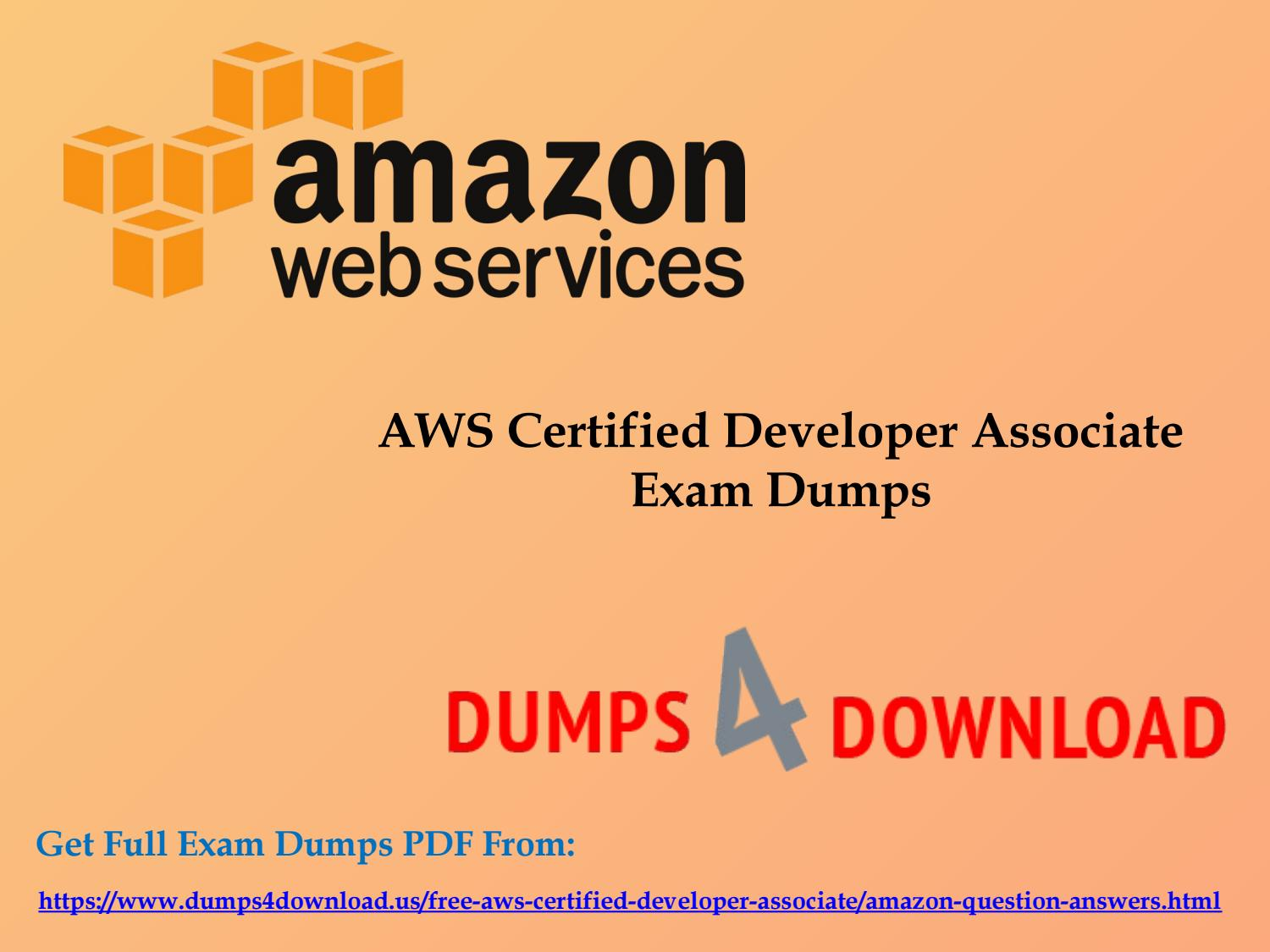Buy march new aws certified developer associate exam questions by buy march new aws certified developer associate exam questions by dumps4download issuu 1betcityfo Images