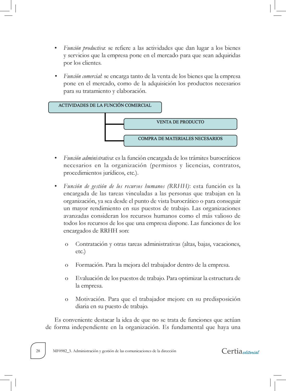 Mf0982 3 Administración Y Gestión De Las Comunicaciones De