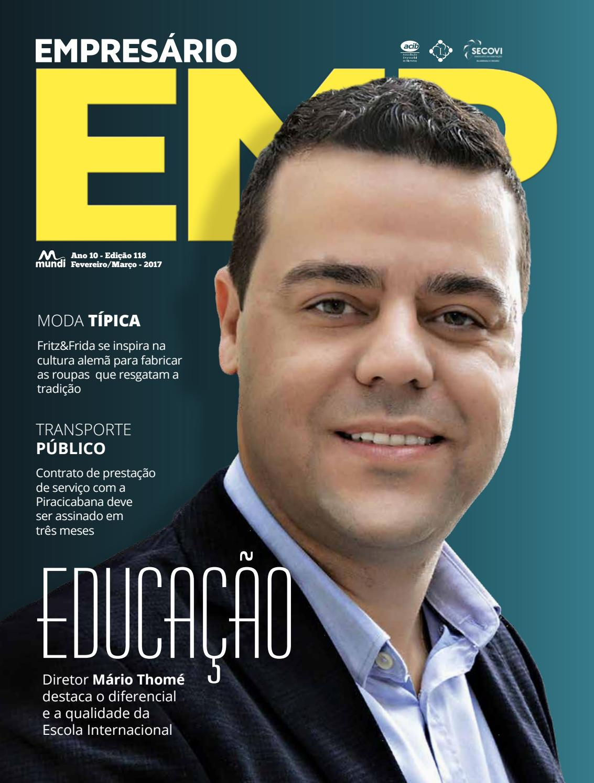 Revista Empresário ed. 118 by Mundi Editora - issuu 5e5259276b