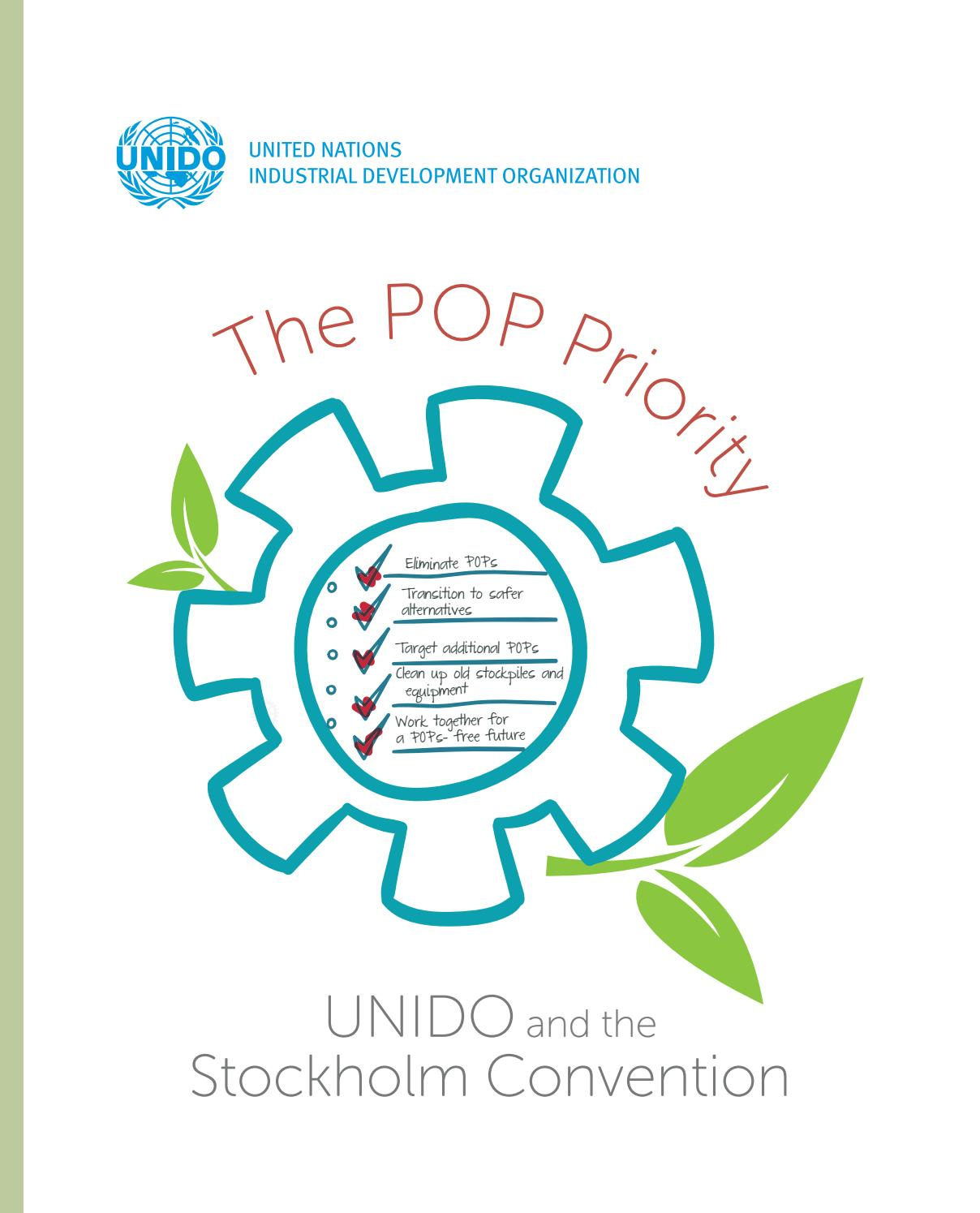 The POP Priority. UNIDO And The Stockholm Convention By