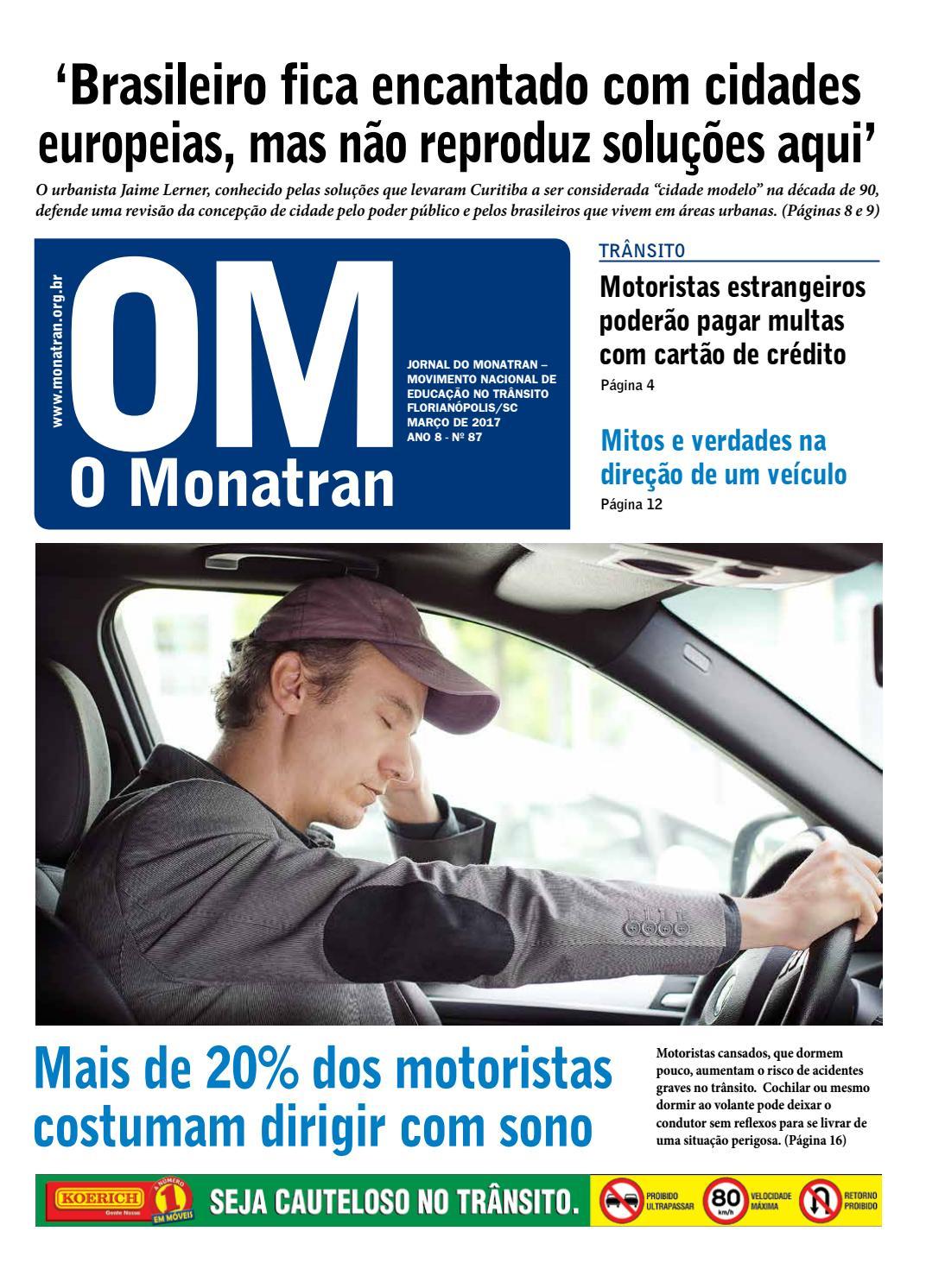 7367c400a5 O Monatran - Março 2017 by Monatran Movimento Nacional de Educação no  Trânsito - issuu