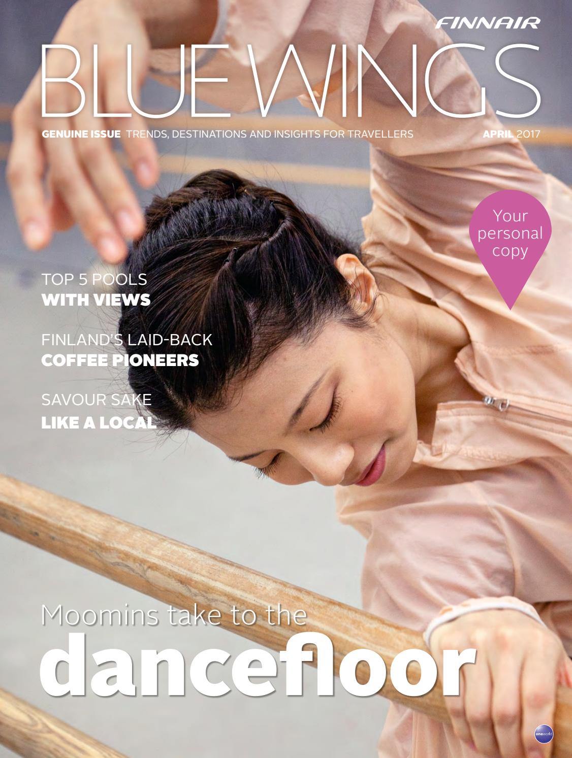 Blue Wings Genuine Issue April 2017 By Finnair Bluewings Issuu Singapore Of Time Show 1940 Voucher