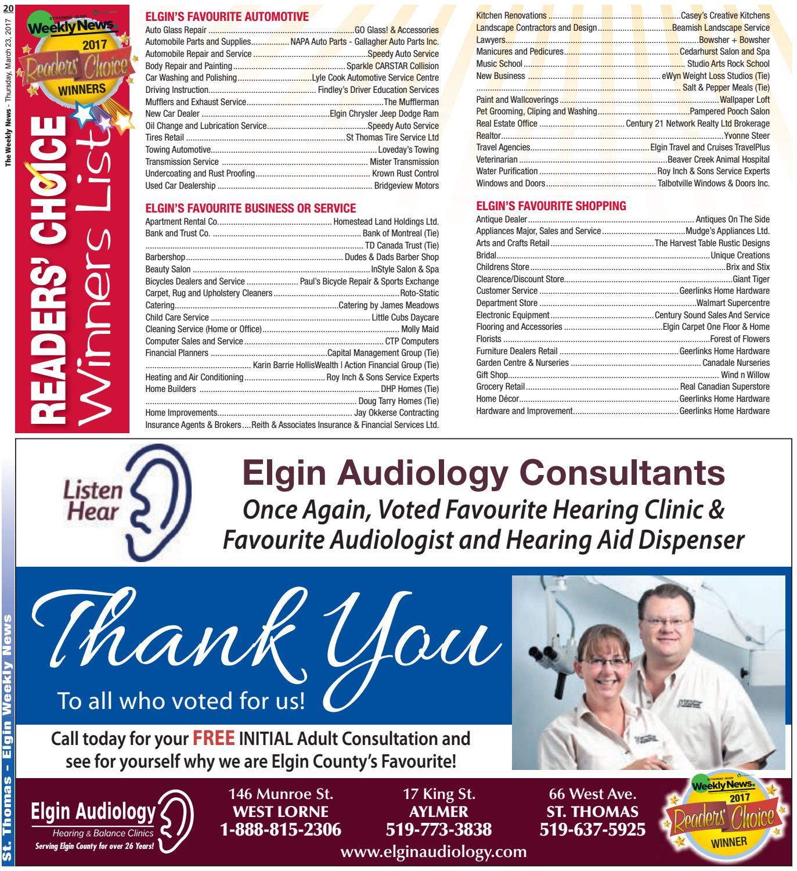 . St Thomas March 23 by St Thomas Elgin Weekly News   issuu