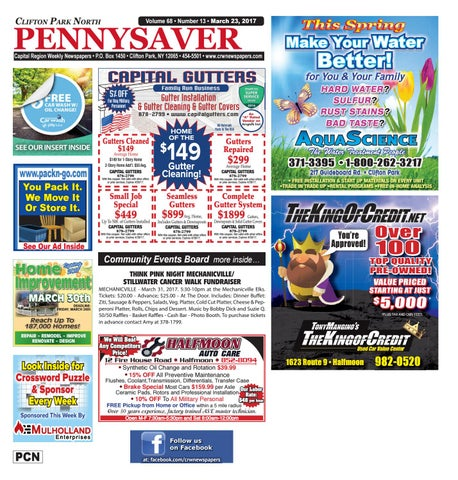 Clifton Park North Pennysaver 032317 By Capital Region