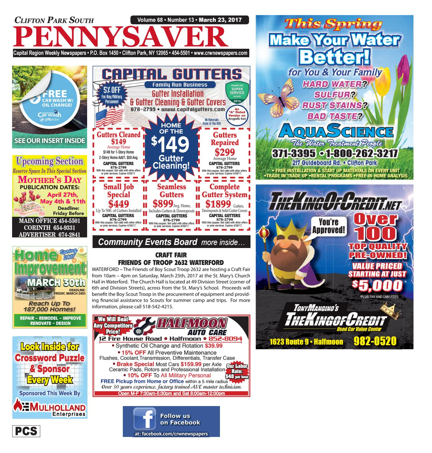 Clifton Park South Pennysaver 032317 By Capital Region