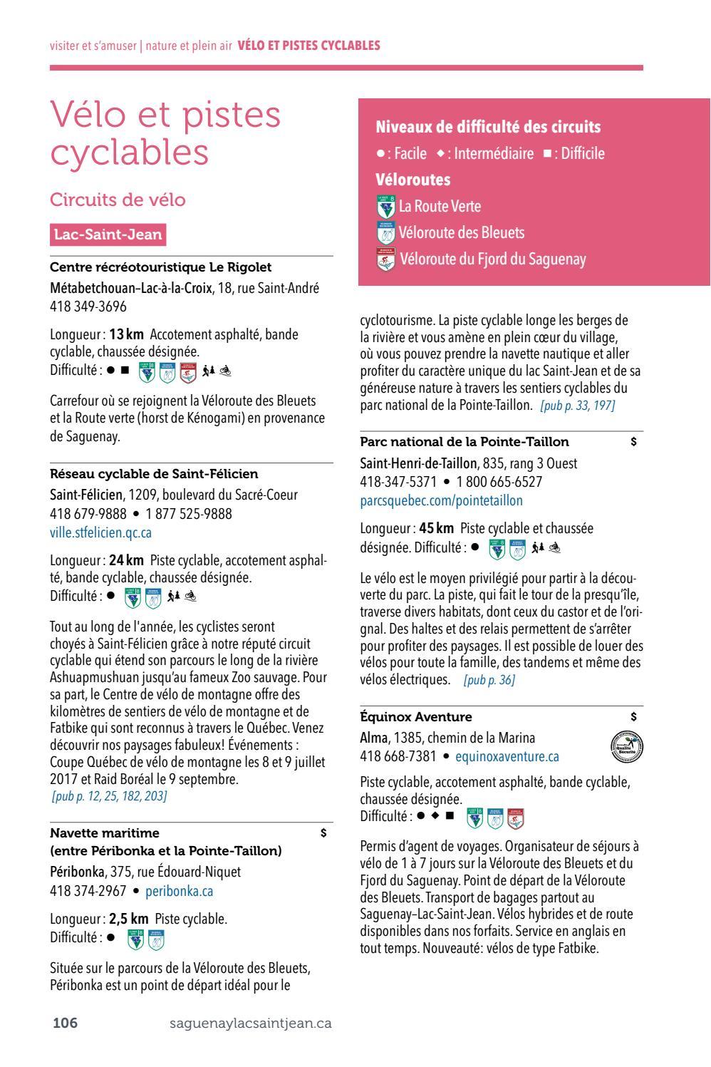Guide Touristique Officiel Du Saguenay Lac Saint Jean Edition 2017 By Tourisme Saguenay Lac Saint Jean Tourism Issuu