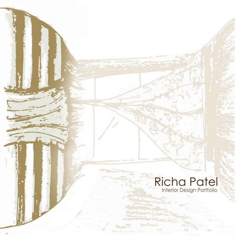 Richa Patel Interior Design Portfolio By Richa Patel Issuu
